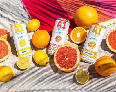 A1 Sparkling Fruit Water Launches in South Africa