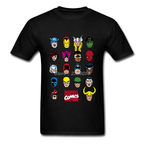Camiseta funny Marvel Comics