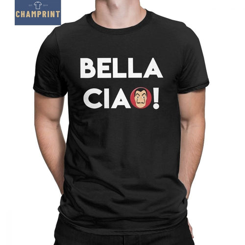 Camiseta La Casa De Papel Bella Ciao Men