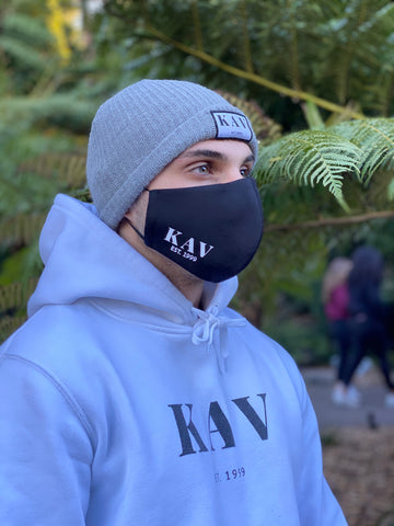 Kav Face Mask- Black
