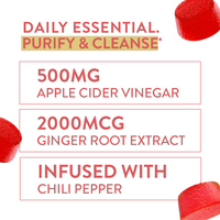 Purify & Cleanse - Apple Cider Vinegar Gummies