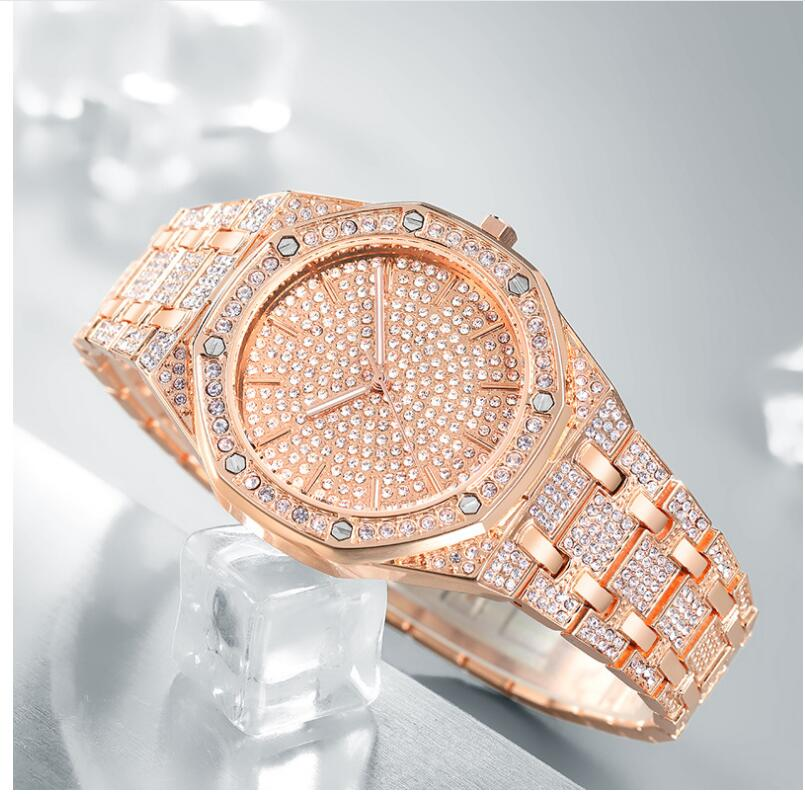 'Ice Age' Iced Out (Gold/White Gold/Rose Gold) Watch - Drip For Men