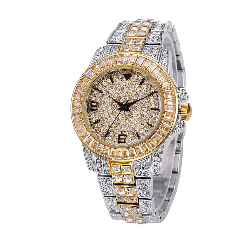 'Presidential' Flashy (Gold/White Gold/Mix) Watch - Drip For Men