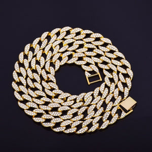 'Ocean Drive' Icy (Gold/White Gold) Cuban Link - Drip For Men