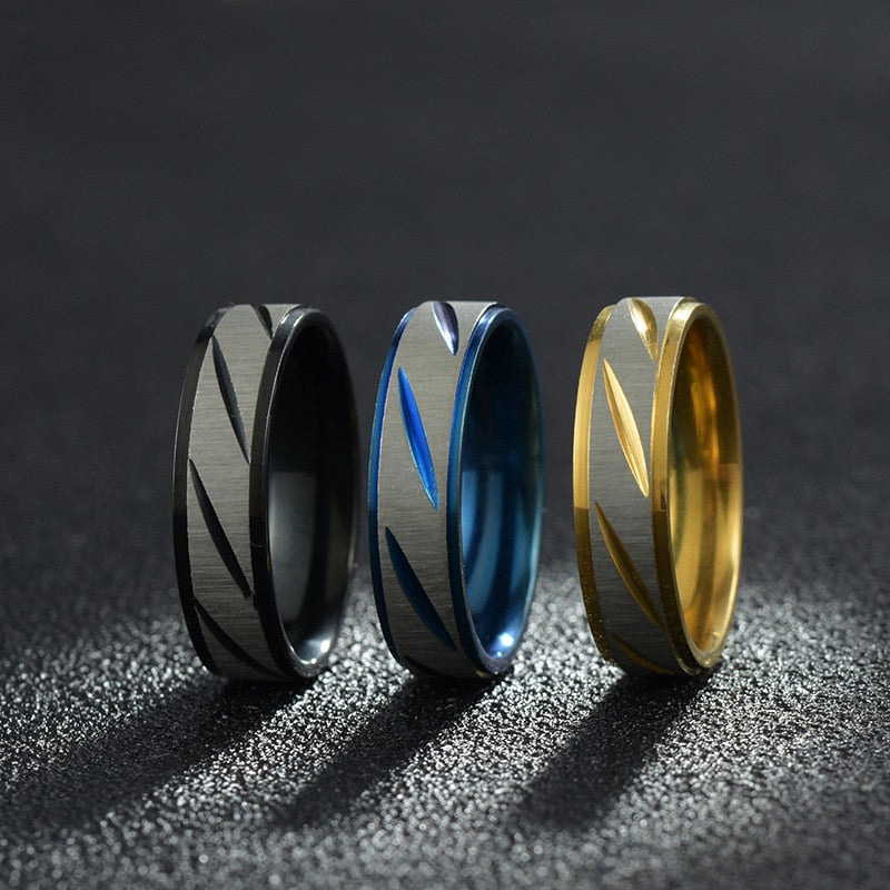 'Vortex' Stylish Men's Ring - Drip For Men