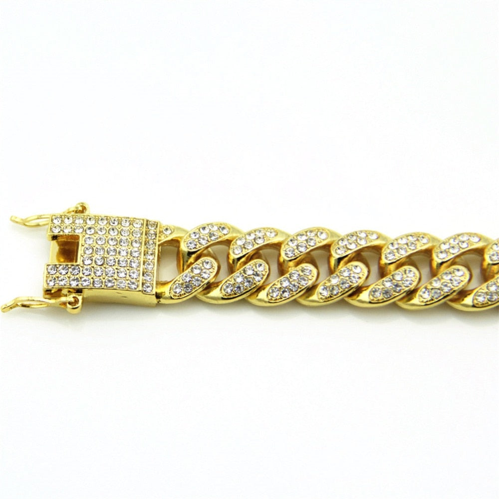 'Diamondback' Iced Out Men's Bracelet - Drip For Men