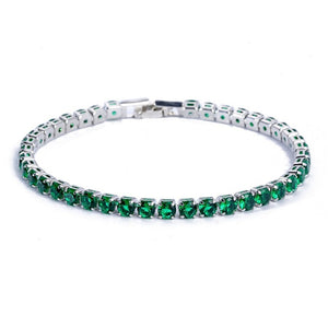 'Ice Line' Iced Out Tennis Bracelet - Drip For Men
