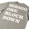 Sebago X One Block Down Grey Larks T-Shirt