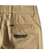 Sebago X One Block Down Beige Timber Trouser