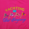 Best Company Yachting Embroidered Sweatshirt circa 1980's