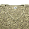 CP Company Ideas From Massimo Osti V Neck Knit Jumper circa 1980's