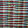 Missoni Sport Woven Patterned Multicolour Short Sleeve Shirt circa 1990's