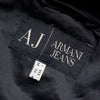 Armani Jeans Hooded Jacket with Removable Hood circa 2000's