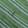 Yves Saint Laurent YSL Green Striped Polo circa 1980's