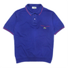 Chemise Lacoste Blue Polo Shirt circa 1980's
