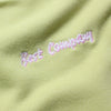 Best Company Embroidered Green Sweatshirt circa 1980's