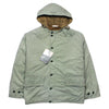 Deadstock Boneville Green Lined Hooded Parka Jacket Circa late 1980's