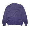 Burberrys Purple Pattern Knit Jumper circa 1980's