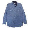 Burberrys Chambray Long Sleeve Shirt circa 1980's