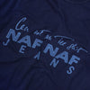 Naf Naf Jeans Embroidered T-Shirt circa 1990's
