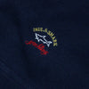 Paul & Shark Navy Zip Up Sweatshirt circa 1990's