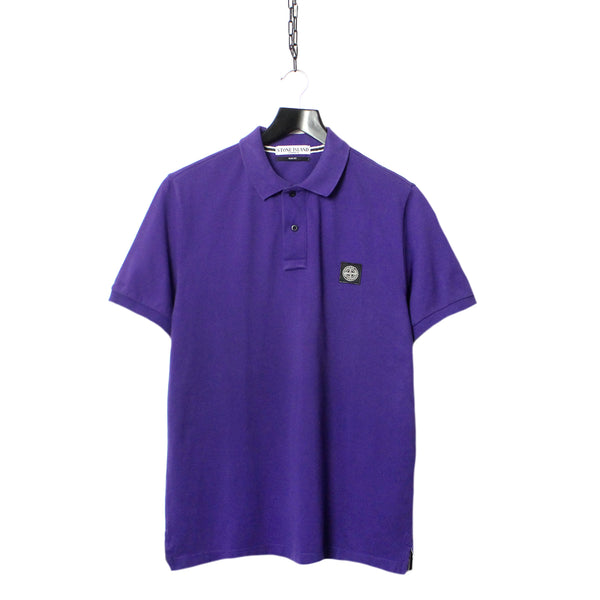 bc5a756b STONE ISLAND SS 2011 PURPLE SHORT SLEEVE POLO SHIRT * TOO HOT