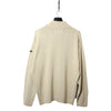 Napapijri Tan 1/4 Zip Knit Jumper circa 1990's