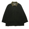Burberrys Of London Green Quilted Wool Jacket circa 1980's