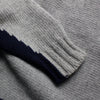 Napapijri Grey 1/4 Zip Knit Jumper circa 1990's