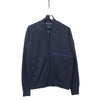 Best Company AW18 Navy Embroidered Bomber Sweatshirt