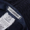 CP Company X One Block Down Navy Blue Denim Bucket Hat