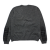 Burberry London Grey Crew Neck Knit Jumper circa 2000's