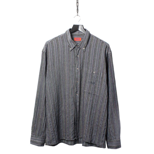277039294fd5 Missoni Example Finely Woven Patterned Multi Colour Shirt circa 1980 s