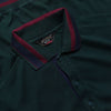 Paul & Shark Green Short Sleeve Polo Shirt circa 1990's