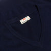 Ellesse Navy V Neck Knit Jumper circa 1980's