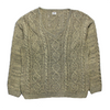 CP Company Ideas From Massimo Osti V Neck Cable Knit Jumper circa late 1980's