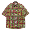 Missoni Sport Abstract Pattern Short Sleeve Shirt circa 1980's