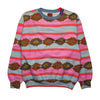Best Company Pink Patterned Sweatshirt circa 1980's
