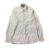 Nigel Cabourn Check 1/4 Button Long Sleeve Shirt circa 1990's