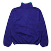 Patagonia Purple 1/4 Button Fleece circa 1990's