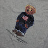 Ralph Lauren Grey Polo Bear T-Shirt circa 1990's