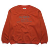 Avirex U.S.A. Orange Printed Crewneck Sweatshirt circa 1990's