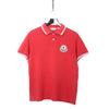 Moncler Red Polo Shirt circa 2000's