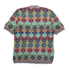 Missoni Sport Patterned Woven Short Sleeve Knit circa 1980's
