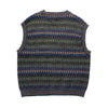Missoni Patterned Woven Vest circa 1980's
