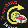 Moschino Jeans Car Applique T-Shirt circa 2000's