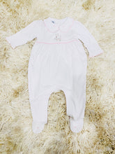 Load image into Gallery viewer, Precious Lamb Embroidered Collared Footed Pajama
