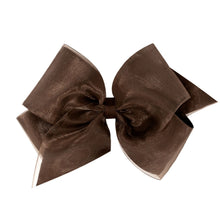 "Load image into Gallery viewer, Organza Grosgrain Bow (KING 6 1/4""x 5"")"