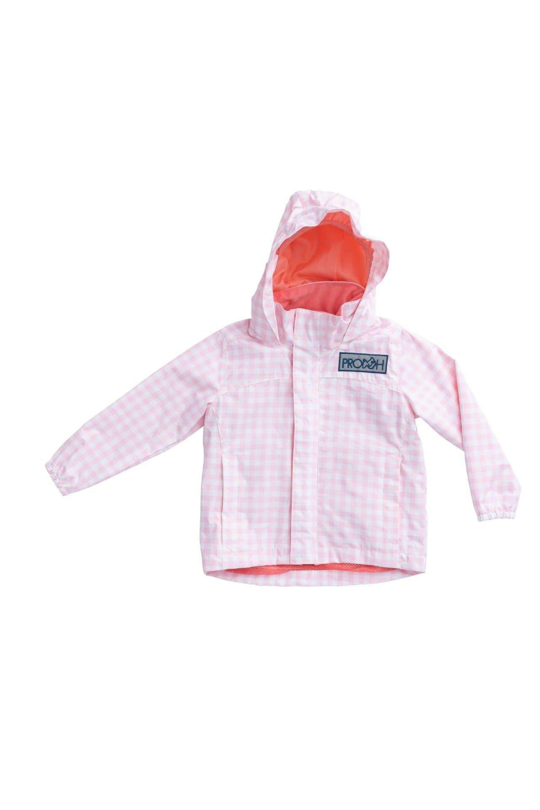 Girl's Water and Wind Reflective Jacket