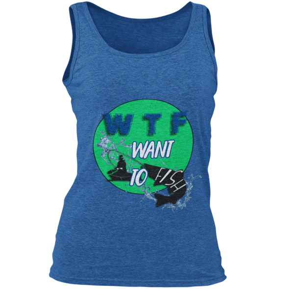 Want to fish - Damen Tanktop